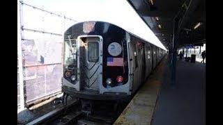 R143 Door testing Train at utica ave (ROBLOX)