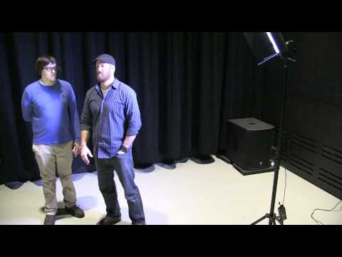 Low Budget Three Point Lighting Mini-Workshop Part One