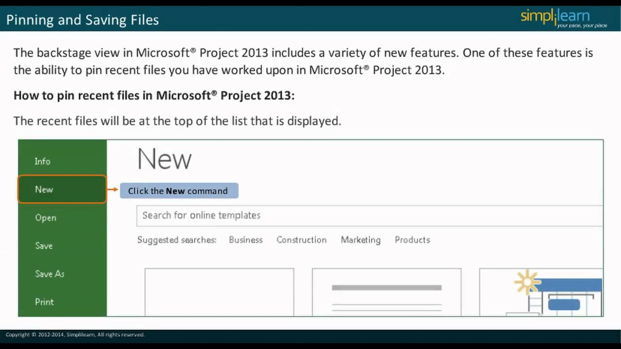 Ms Project 2013 Certification Ms Project 2013 Video Tutorial Ms