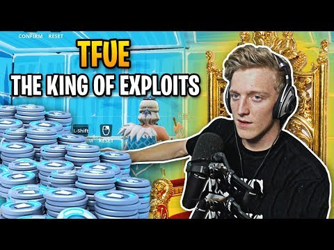 Tfue is the King of Fortnite Exploits...