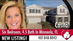 New Home Listing! Minneola Clermont Florida 6BR with Mother In Law Suite! Hanover Family Builders