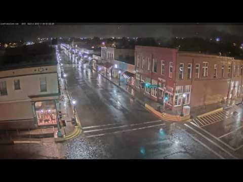 Downtown Silver City 2016-11-04 4am Storm
