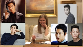 한국 남자연예인 처음 본 미국 친구들의 반응!