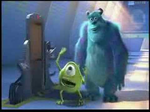 Best Monsters, Inc  Moments