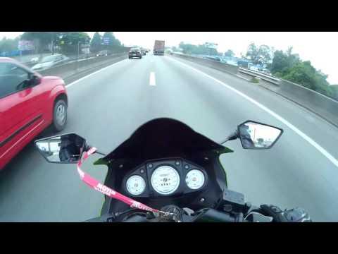 FehViana - Top speed kawasaki ninja 250