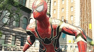 Spider-Man Infinity War Combat & Free Roam Gameplay - The Amazing Spider-Man 2