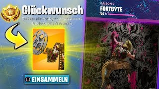The LAST FORTBYTE 😱 WHAT happens?   Fortnite Alle Fortbytes English