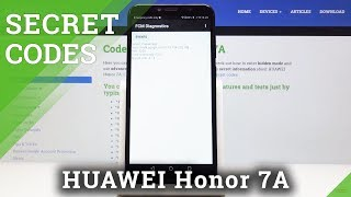 Secret Codes for HUAWEI Honor 7A – Calendar Storage / IMEI Number