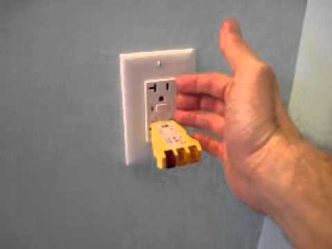 How To Reset A Ground Fault Circuit Interrupter Gfci Outlets Or