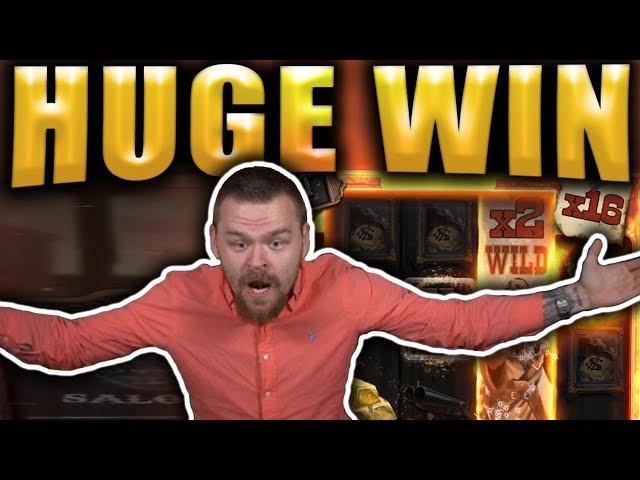 HUGE BIG WIN on DEADWOOD - Casino Slots Big Wins