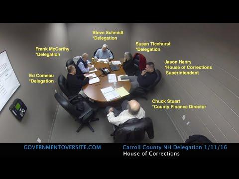 Carroll County NH Delegation HOC 1:11:16