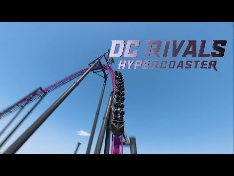 DC Rivals HyperCoaster Roller Coaster Preview Warner Bros Movie World Australia