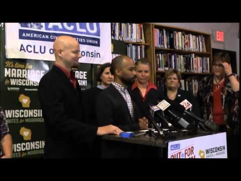 Wisconsin gay marriage lawsuit plaintiffs