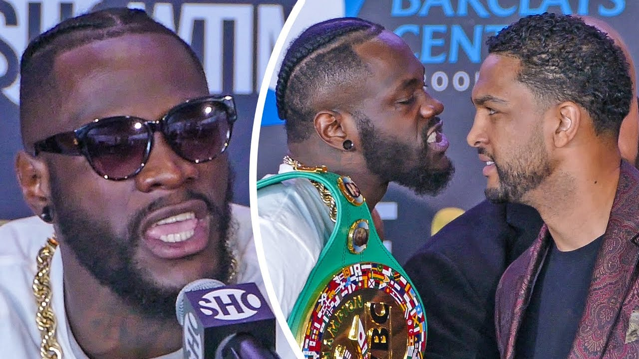 Download Deontay Wilder vs. Dominic Breazeale FINAL PRESS CONFERENCE   Brooklyn, NY