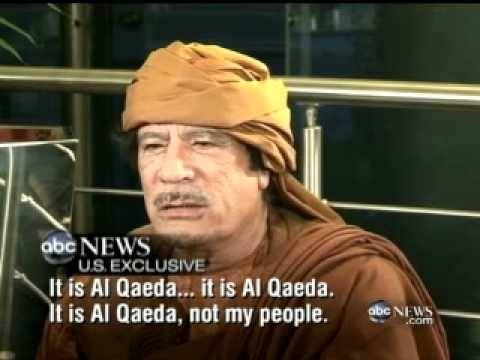 U S  Exclusive  Moammar Gadhafi Tells Christiane Amanpour that Libya's People Love Him   ABC News