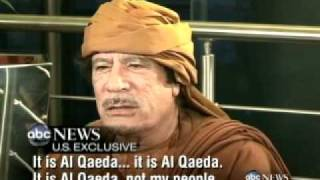 U S  Exclusive  Moammar Gadhafi Tells Christiane Amanpour that Libya