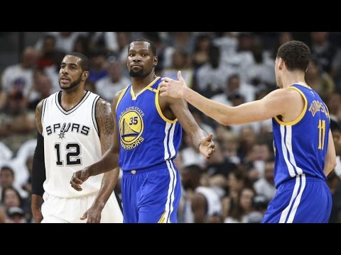 Kawhi Leonard Sits Out Game 3! Warriors Take 3-0 Lead! Warriors Spurs Game 3
