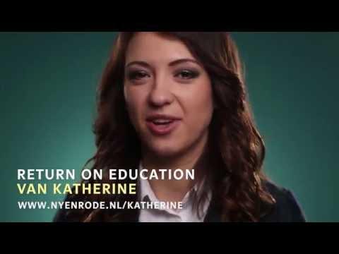 Parttime MSc in Management   Return on Education Katherine Kucherenko