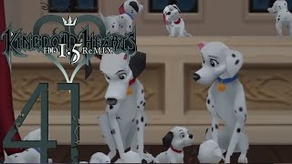 Let's Play Kingdom Hearts Hd - All 99 Dalmatian Locations - Part 41 (walkthrough)