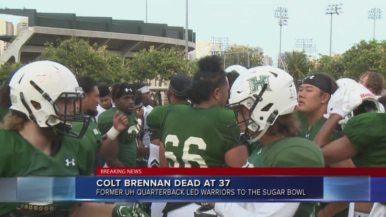 Colt Brennan, Former University of Hawaii Quarterback, Dies at 37