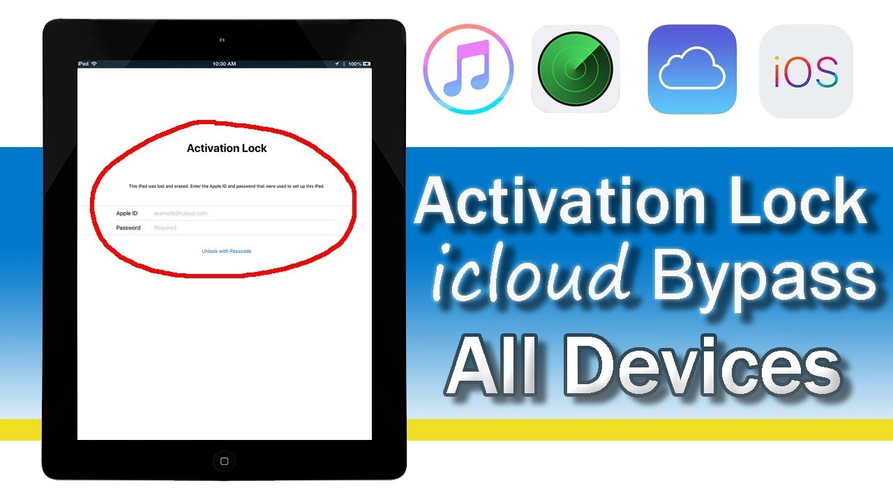 Bypass iCloud Activation Lock For All iPhone/iPad/iPod 2018/2019 100%  Working Method