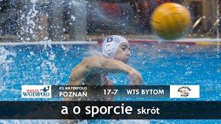 KS Waterpolo Poznań - WTS Bytom / 24.10.2015 / Skrót
