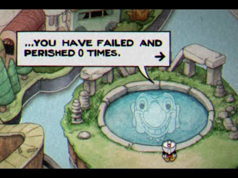 Cuphead [All Bosses] No Death/Retry/Charm Run (Any% Good Ending)
