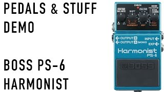 BOSS PS-6 Harmonist demo