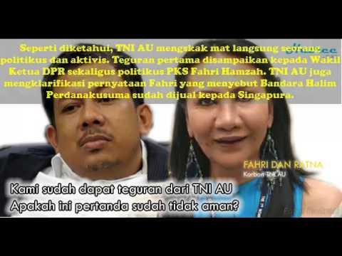 Skak mat Ratna Sarumpaet & Fahri Hamzah, akun TNI AU dapat pujian