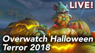 Overwatch Halloween Terror 2018 with Cecilia & Nathan