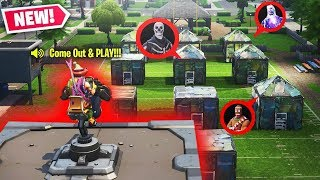 *HELL* MOUNTED TURRET HIDE AND SEEK NEW GAMEMODE! INSANE FORTNITE CUSTOM GAMEMODE
