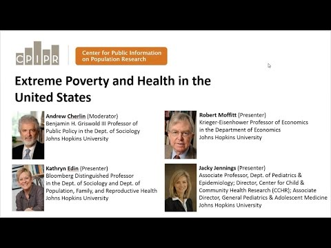 PRB Webinar: Extreme Poverty and Health in the United States