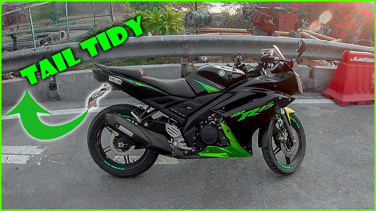 Yamaha R15s Cheap and Best Tail Tidy Modification