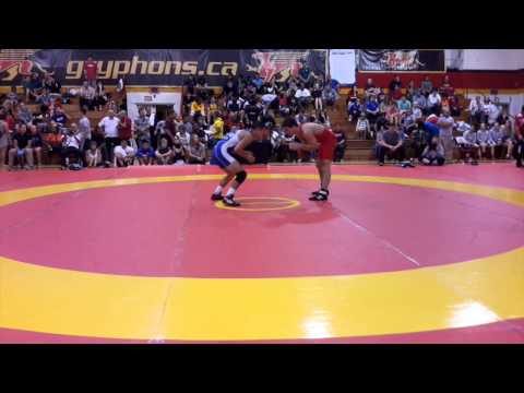 2014 Canada Cup: 57 kg Dylan Bray (CAN) vs. Steven Takahashi (CAN)