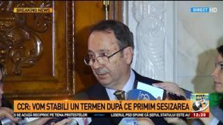 Valer Dorneanu, președintele CCR : Avem o singură presiune, a legii și a constituției și a obli