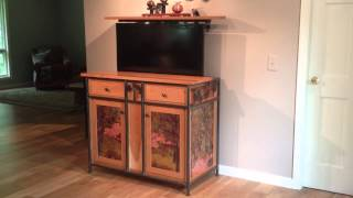 Flatscreen Tv Lift Cabinet