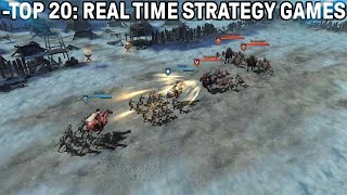 Top 20: The bęst strategy games of 2020 PC