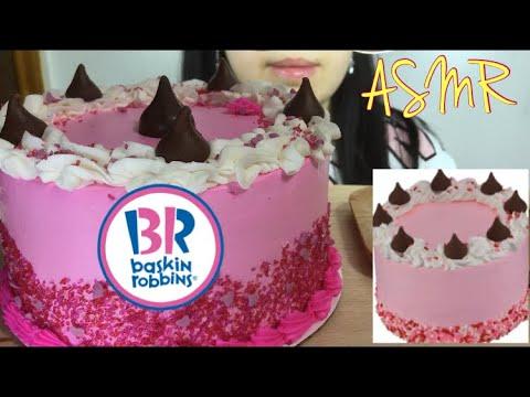 ASMR HERSHEYS KISSES ICE CREAM CAKE Valentines Day Dessert