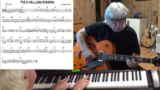 TIE A YELLOW RIBBON - Jazz guitar & piano cover ( L. Russell Brown )