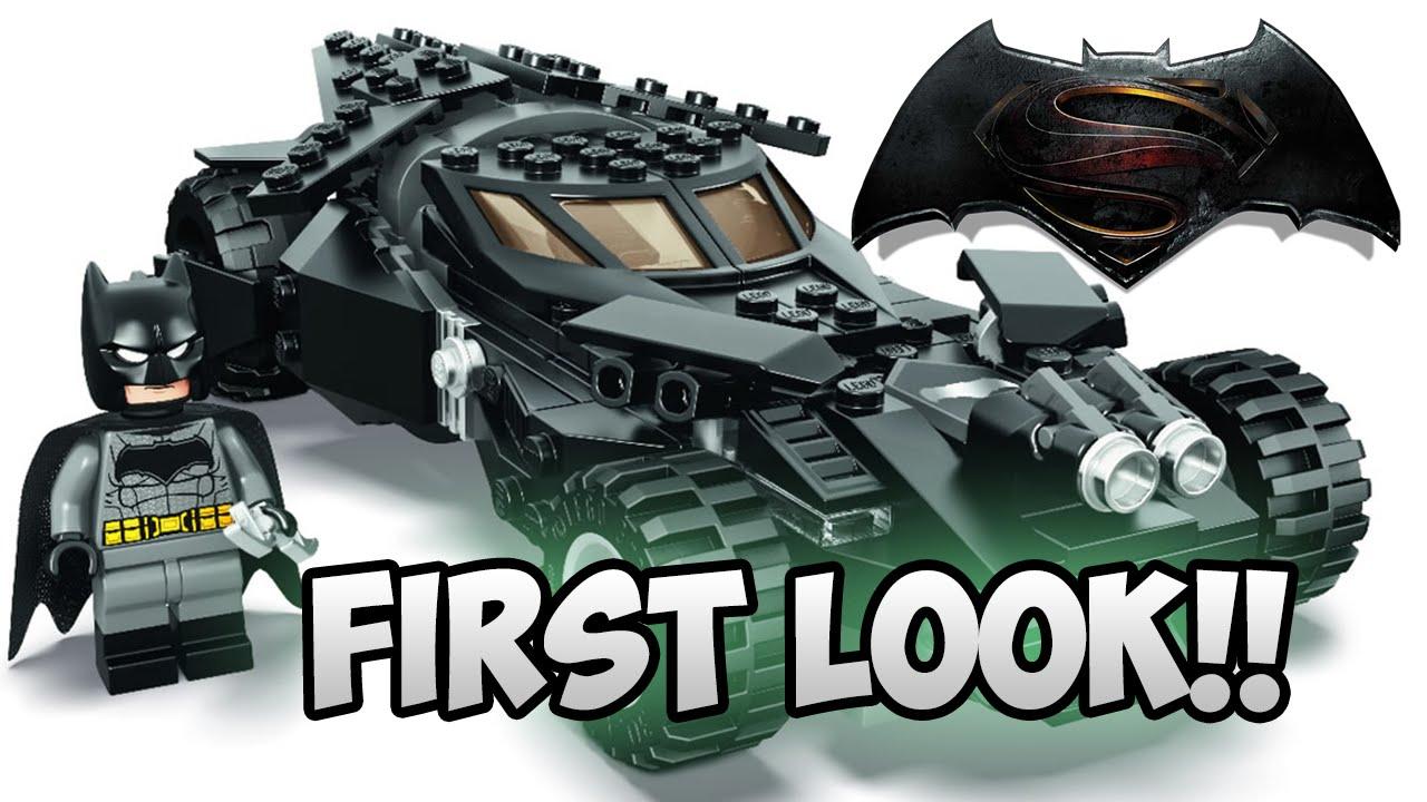 lego batman v superman batmobile first look youtube. Black Bedroom Furniture Sets. Home Design Ideas