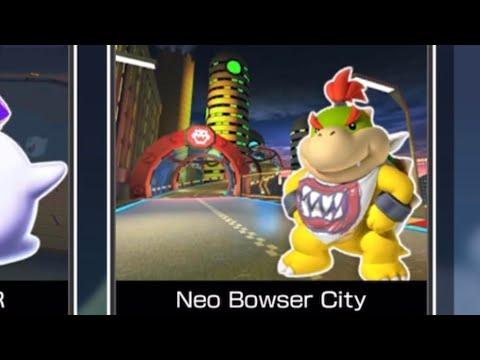 3ds Neo Bowser City Secret Shortcut Mario Kart Tour