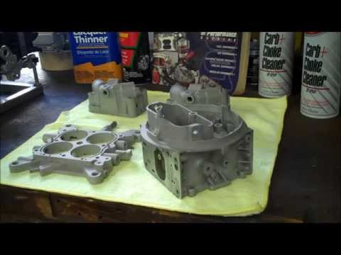 PowderCoating a Holley Carb - Part 2 Clean & Coat