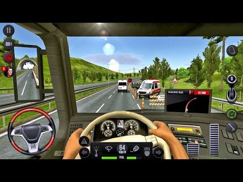 Truck Simulator 2018 Europe #11 - Truck Games Android gameplay #truckgames