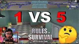 """1 VS 5"" Stream Highlights #11 (ROS BISAYA)"