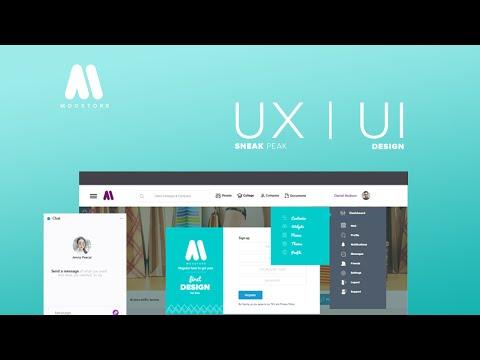 Ux|Ui Website design Sneak Peak