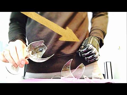 AMAZING BIONIC HAND BREAKS GLASSES!!