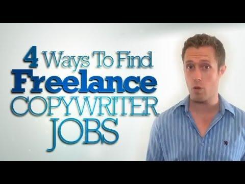 4 Ways To Find Freelance Copywriter Jobs