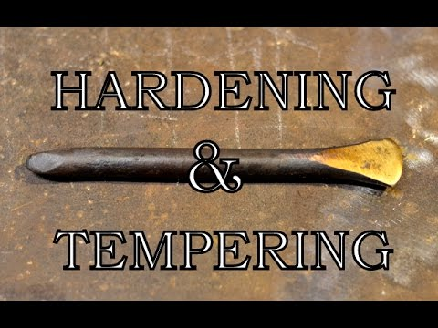 Hardening and Tempering a Chisel
