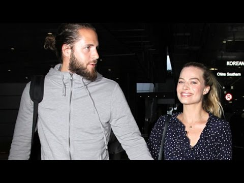 Margot Robbie And Tom Ackerley Return To LA After Secret Australian Wedding