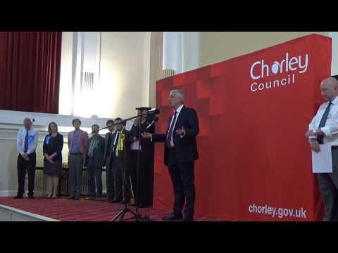 Chorley General Election Declaration